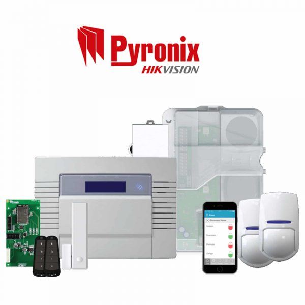 PYRONIX HIKVISION ALARM SYSTEM KIT ENFORCER KIT 1 inc Installation 1