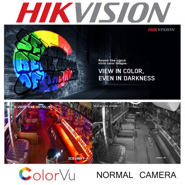 HIKVISION CCTV SYSTEM 4CH 8CH DVR COLOUR AT NIGHT 5MP CAMERA 3