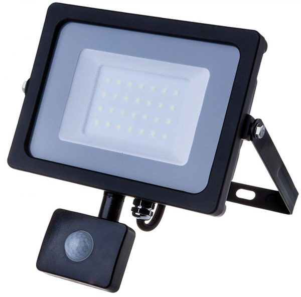 Security LED Floodlight with PIR including installation 1