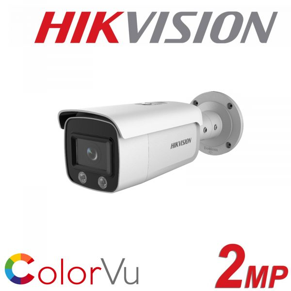 HIKVISION 2MP BULLET COLORVU DS-2CD2T27G1-L 4mm 1