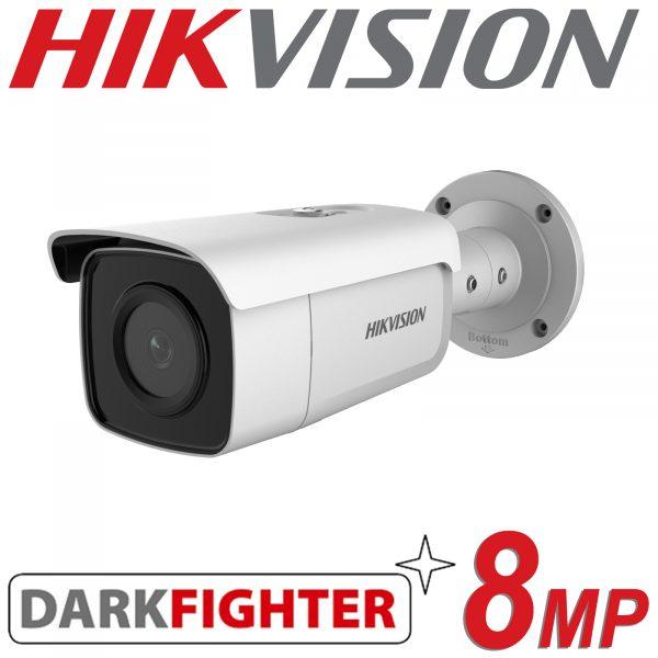 8MP BULLET CAMERA IP POE HIKVISION DARK FIGHTER DS-2CD2T85G1-I5 2.8mm 1