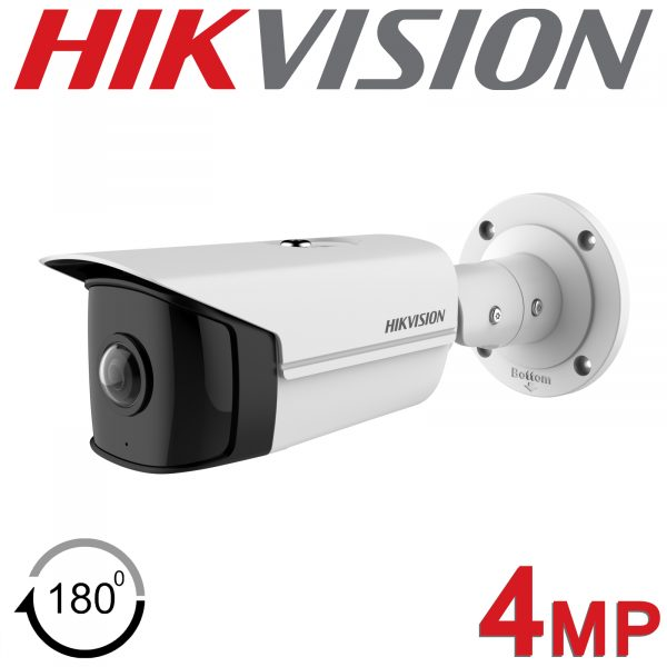 4MP HIKVISION DS-2CD2T45G0P-I ULTRA WIDE ANGLE FIXED LENS BULLET CAMERA WITH IR 1