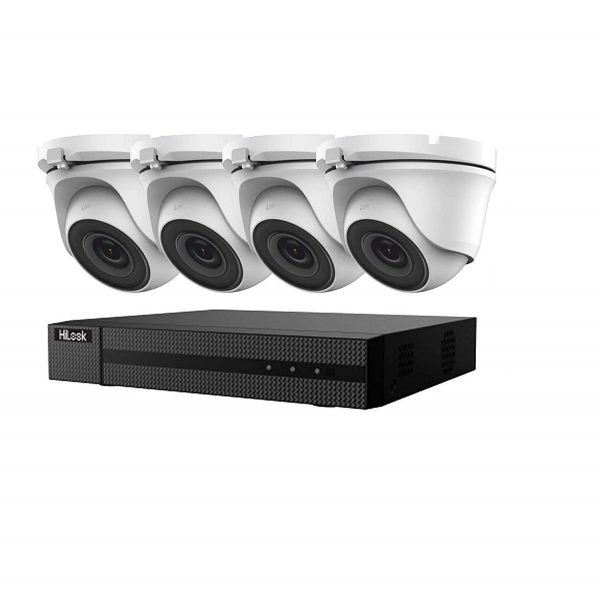 HIKVISION HILOOK 5MP 2X HD CCTV SYSTEM 4CH DVR DOME NIGHT VISION INC INSTALLATION 1